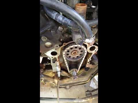 1991 3.0L Ford ranger timing chain replacement