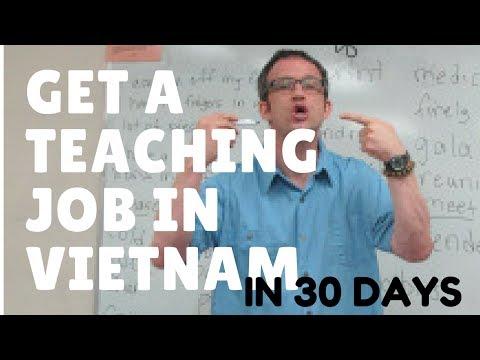 Land an ESL Teaching Job in Vietnam in 30 Days