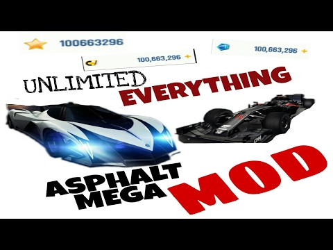 How to hack Asphalt 8 easiest way No root/no jailbreak unlimited everything