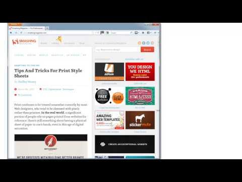 Adaptation d'un site en responsive web design