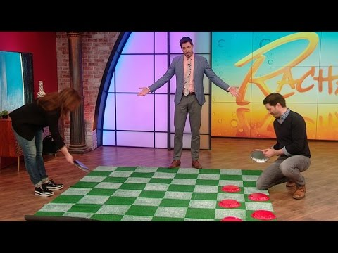 Love Checkers? You'll Love This Life-Sized Checkerboard
