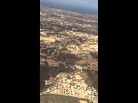 Departing Aruba