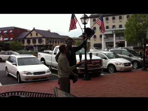 A Walk through Downtown Gettysburg, PA