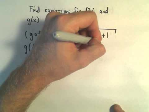 Finding Functions that Form a Particular Composite Function