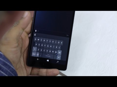 How to change Keyboard Layout in Windows 10 Mobile