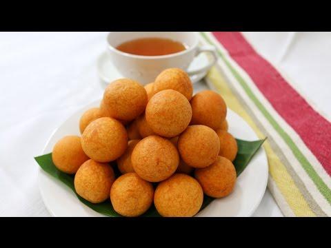 Fried Sweet Potato Balls ขนมไข่นกกระทา  - Episode 66