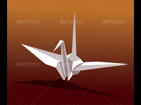 how to make flying paper bird
