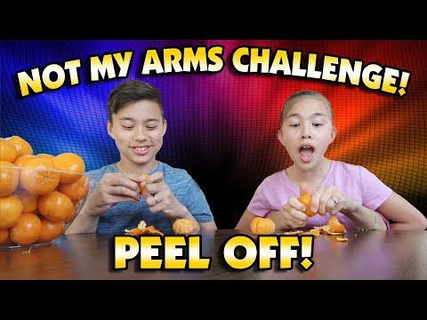 NOT MY ARMS CHALLENGE PEEL OFF!!!