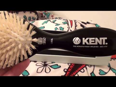 Kent of England Hair Brush Extra Soft, Gentle Boar-Bristle Brush Pamper & Protect Thinning Hair