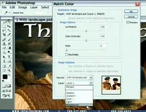 How to Match Color Temp in Photoshop CS2