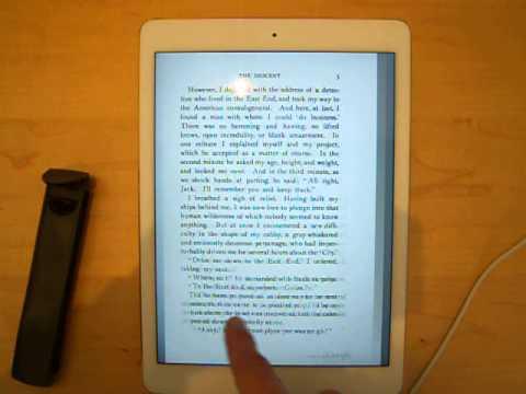 Google Books PDF Test iPad Air 2 Abyss 1