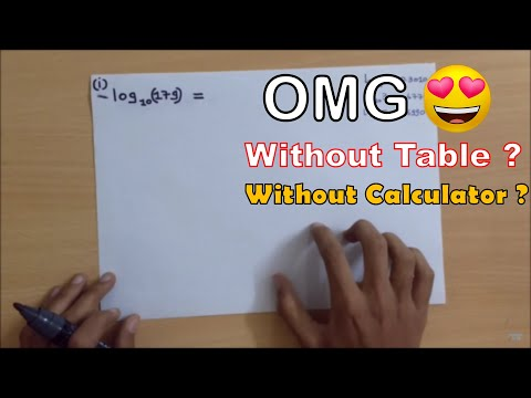 Calculate Antilog value WITHOUT Calculator & Log-table