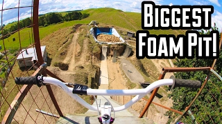 Riding The Biggest Foam Pit In The World