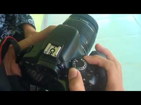 Setting Diafragma, Shutter Speed dan ISO pada Kamera Canon EOS 600D