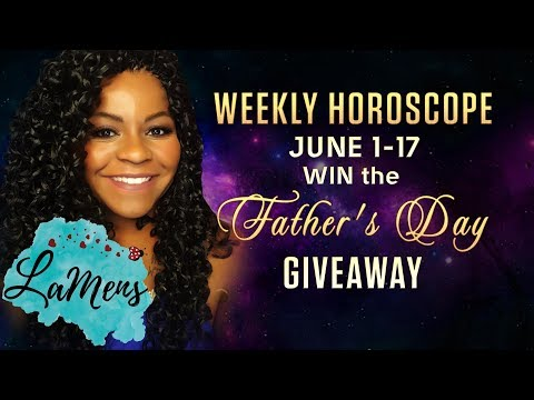 TWO WEEKLY HOROSCOPE GIVEAWAY JUNE 4 -JUNE 17, 2018
