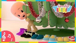 We Wish You A Merry Christmas. Villancico De La Familia Telerin En Inglés. Canciones Infantiles