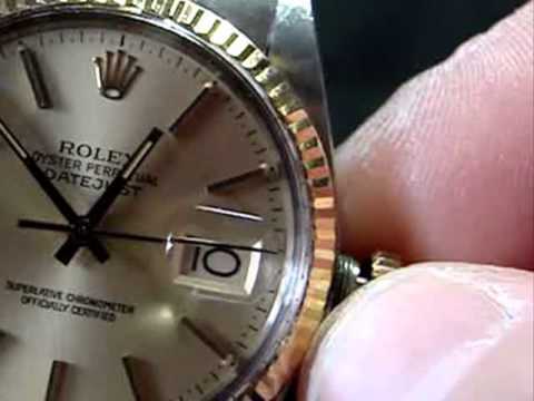 How to Wind and Set a Men's Rolex Datejust Quickset Watch