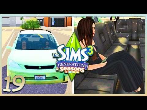 The Sims 3: Generations & Seasons [S2] | Part 19 | Driving Practice & Prom!🚙💃