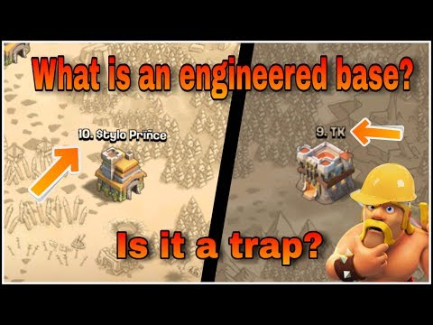 BE AWARE!! ENGINEERED BASE ARE A TRAP!! KNOW HOW? CLASH OF CLANS