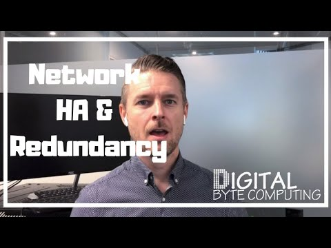 How to setup your IT Network and Servers with High Availability and Redundancy