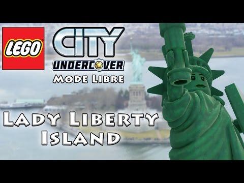 LEGO CITY FR - Mode Libre - Lady Liberty Island