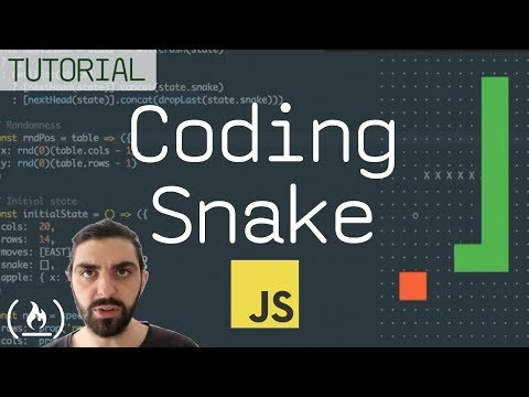 JavaScript Snake Game Tutorial Using Functional Programming