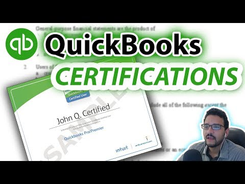 How to Pass a QuickBooks Test & Get Certified - Learn QuickBooks in a few hours
