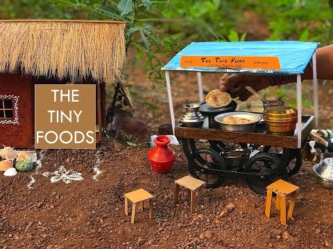 E28 || Parotta + Veg Salna || The Tiny Foods