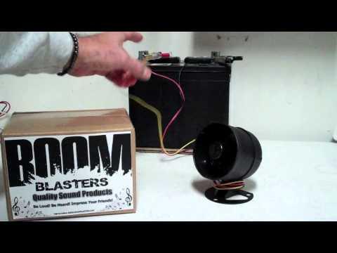Boom Blasters Car Horn Installation Tutorial