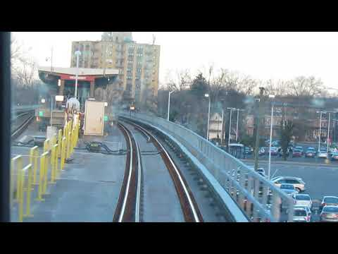 PATCO Morning Express Run with New Cars