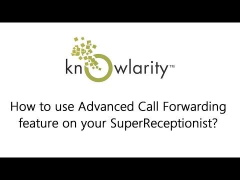How do I use Advanced Call Forwarding