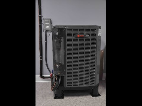 Trane Variable speed AC -  A Plus Air Systems