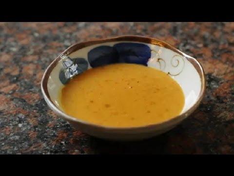 Thai Peanut Sauce With Peanut Butter & Coconut Milk : Asian Cuisine