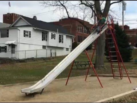 Gigantic slide!