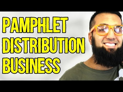 Pamphlet Distribution Business in Pakistan India  | Azad Chaiwala Show