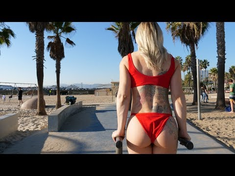 Crazy Barstarzz Workout On Santa Monica Beach