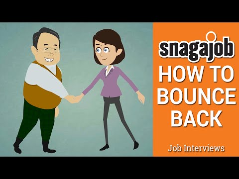 Job Interviews (Part 2): How to bounce back after not getting the job