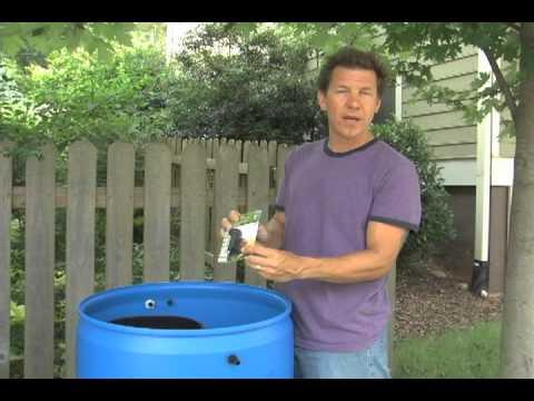 How to Install a Rain Barrel Garden Part 1
