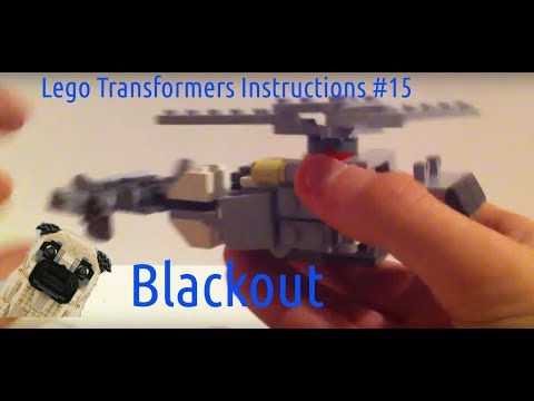 Lego Transformers Instructions #15 Blackout