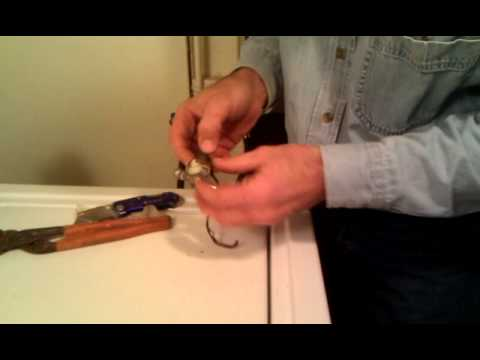 Repairing a faucet #3
