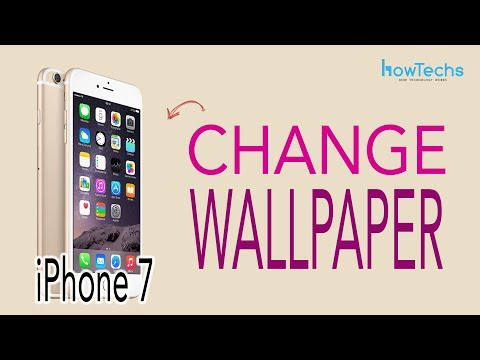 iPhone 7 - How to Change the Wallpaper