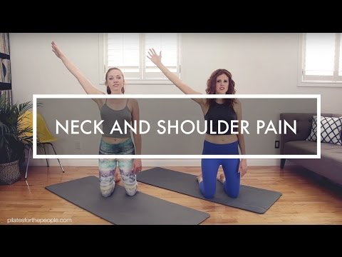 HOW TO GET RID OF NECK AND SHOULDER PAIN