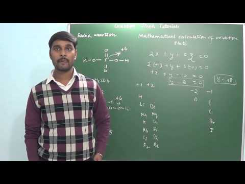 4.2 Mathematical calculation of oxidation state(Class 11 & Class 12)