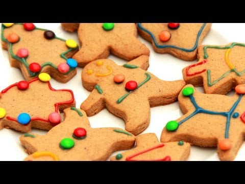 How To Make Gingerbread Men - Christmas Video Recipe