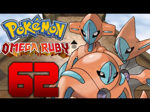 DEOXYS FORMEN ÄNDERN & DEOXYS REMATCH Let's Play Pokémon Omega Rubin Part: 62 Deoxys fangen
