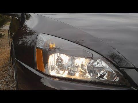 Installing LED Turn Signal Bulbs in a 2004 Honda Accord Coupe V6