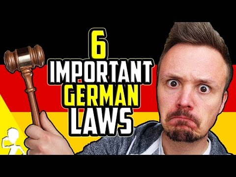 6 Important German Laws You HAVE To Obey | Get Germanized w/ VlogDave