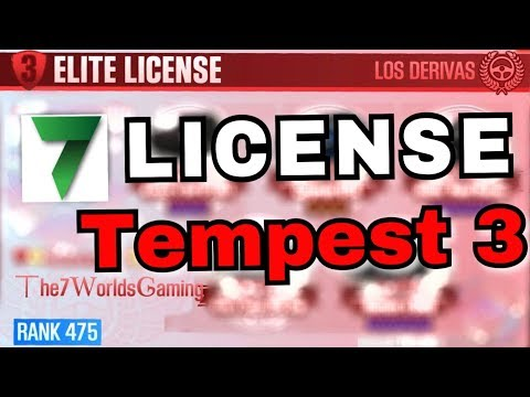 GETTING THE ELITE LICENSE! Tempest 3!   CSR Racing 2