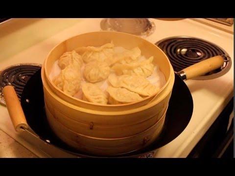 Chicken Momos / Dumplings Recipe  (4 shapes)