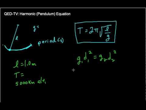 Orbital Period and Pendulum Equation